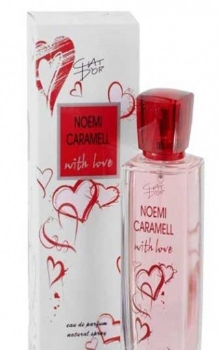 CHAT DOR NOEMI CARAMELL WITH LOVE EDT 100ml