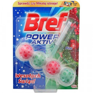 Henkel Bref Power Aktiv WC blok 50 g - LET IS SNOW