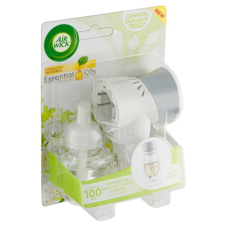 AIR WICK ELECTRIC WHITE FLOWERS KOMPLET 19 ML (120dní)