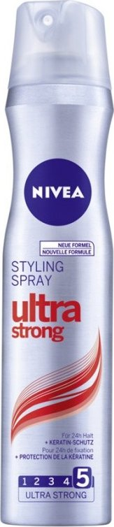 Nivea Ultra Strong lak na vlasy 250 ml
