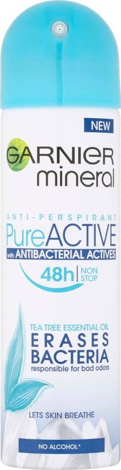 Garnier Mineral Pure Active Antibacterial W deospray 150 ml