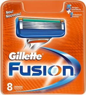 Gillette Fusion 8 ks