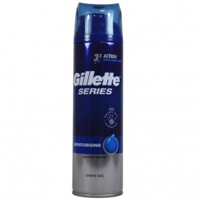 GILLETTE series gel na holení Moisturising 200ml